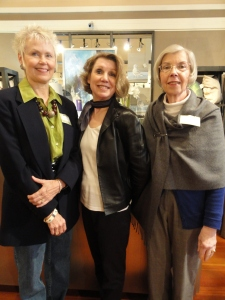 Sharon Krask, chef; Denise Fairweather and Dianne Widdop, associate hostess (Mayor of Gearhart)