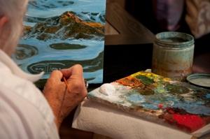 Painting LIVE(tm) #10 of Top Ten