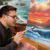 Artist Rodney Glen Martinez