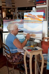 fairweather-7-18-14 Painting LIVE week 3