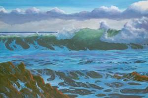 Fairweather Sea by Carol Thompson