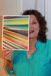 Artist Linda Trexler.