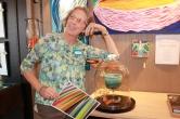 Emerging artist Gayle H. Seely.
