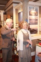 Art patrons Jay and Jan Barber.