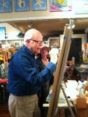 Artist Paul Brent offering a Painting Seaside LIVE (tm) event @ Ocean Staged.