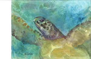 Ode to Joy by watercolor artist Rosemary Klein