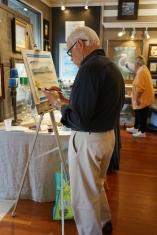 Paul Brent Painting Seaside LIVE (tm)