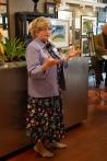 Rosemary Klein speaks.