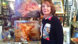 Artist Jo Pomeroy-Crockett