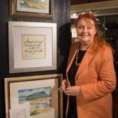Penelope Culbertson, master calligrapher