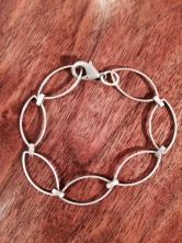 Silver bracelet from Joanie and Me.