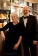 Joan and Ron Smith, wine steward and hostess.