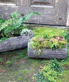 Artisan garden pots