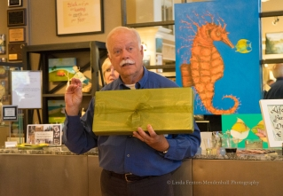 Artist Paul Brent lectures