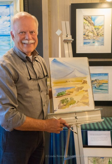 Paul Brent painting for NCLC benefit