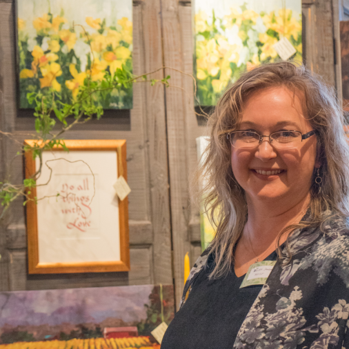 Artist Melissa Jander is welcomed as a resident Fairweather artist.