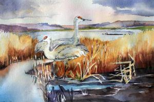 crane-pair