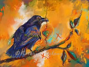 Raven Gift Orange
