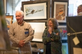 Naturalist Neal Maine and Esther Lev, Executive Director/ The Wetlands Conservancy