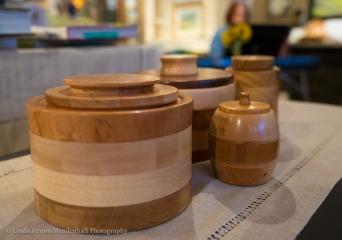 Wood artist Fred Lukens
