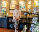 Melissa Jander's anniversary appearance at the Fairweather Gallery