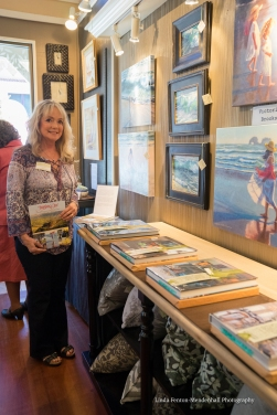 Victoria Brooks gallery display.
