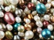 Multi-colored pearls