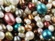 Multi-colored pearls