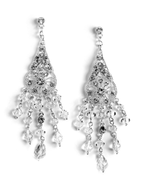Cathedral crystal earrings