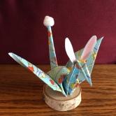 o·ri·ga·mi ˌôrəˈɡämē: the art of folding paper into decorative shapes and figures.