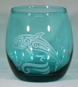 Dolphin glassware by Rox