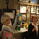 Patti Isaacs offered an artist talk.
