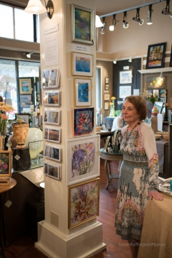 Jo Pomeroy-Crockett and her pair art.
