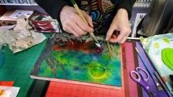 Jo painting demo