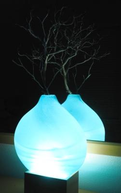 Andrew Nelson LED light display cube.