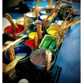 Beeswax and pigment