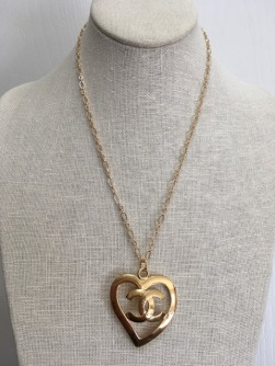 Vintage Chanel pendant by Reneé Hafeman.