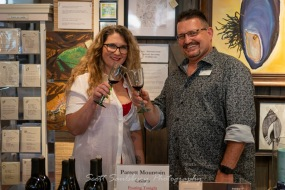 Photos from the Spring Wine Walk at Fairweather's