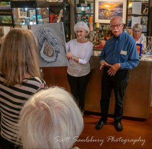 Artist Paul Brent speaking about his art.