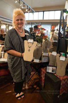 Renee Hafeman, jewelry designer.