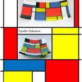 "e-Book: ""Mondrian pattern in glass"""