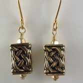 Gold filled Celtic Knot earrings