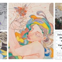 Emerging Artist Vanessa Stokes Postcard 01