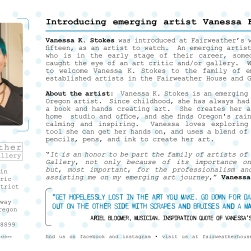 Emerging Artist Vanessa Stokes Postcard 02