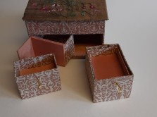 Box with a hidden drawer by Christine